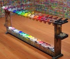mesa paleta